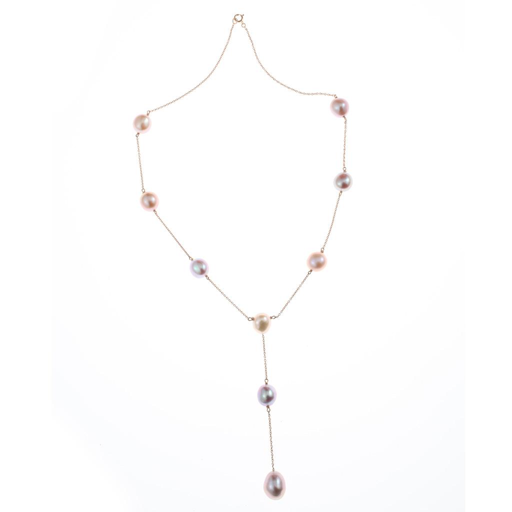 collier perle forme y