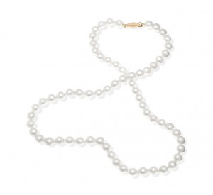Collier en perles de culture Akoya