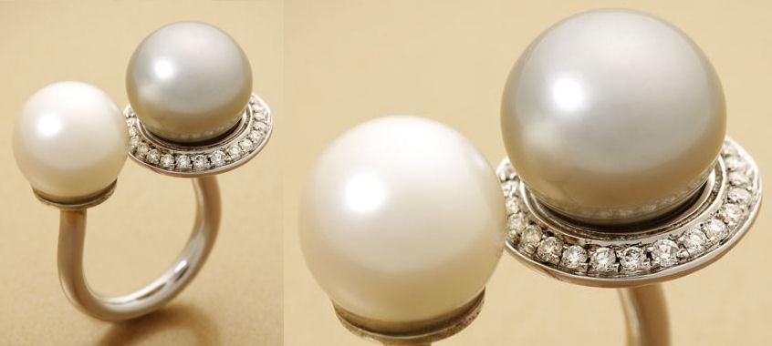 Le bijou du mois : la double-perle